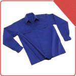 Camisa gabardina UNI024